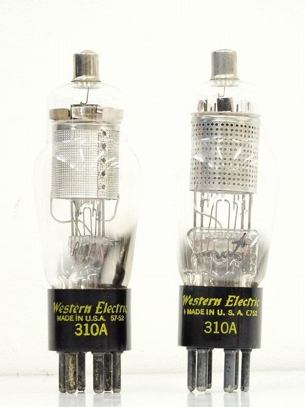 ■□Western Electric 310A 真空管2本 ウエスタンエレクトリック□■008953043Jm□■