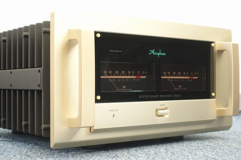 ■□Accuphase P-1000 パワーアンプ アキュフェーズ□■009118003W□■_画像1
