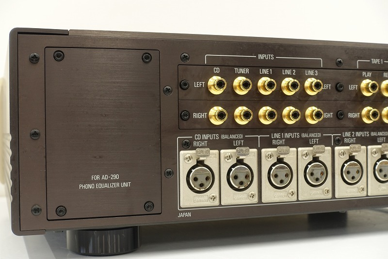■□Accuphase C-290 プリアンプ アキュフェーズ 元箱付□■008750001m□■_画像6
