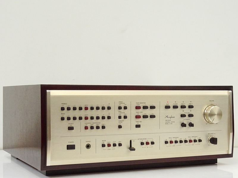 ■□Accuphase C-240 プリアンプ アキュフェーズ□■009108004□■