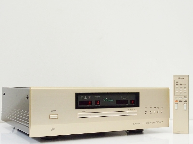 ■□Accuphase DP-430 CDプレーヤー アキュフェーズ□■009404001□■