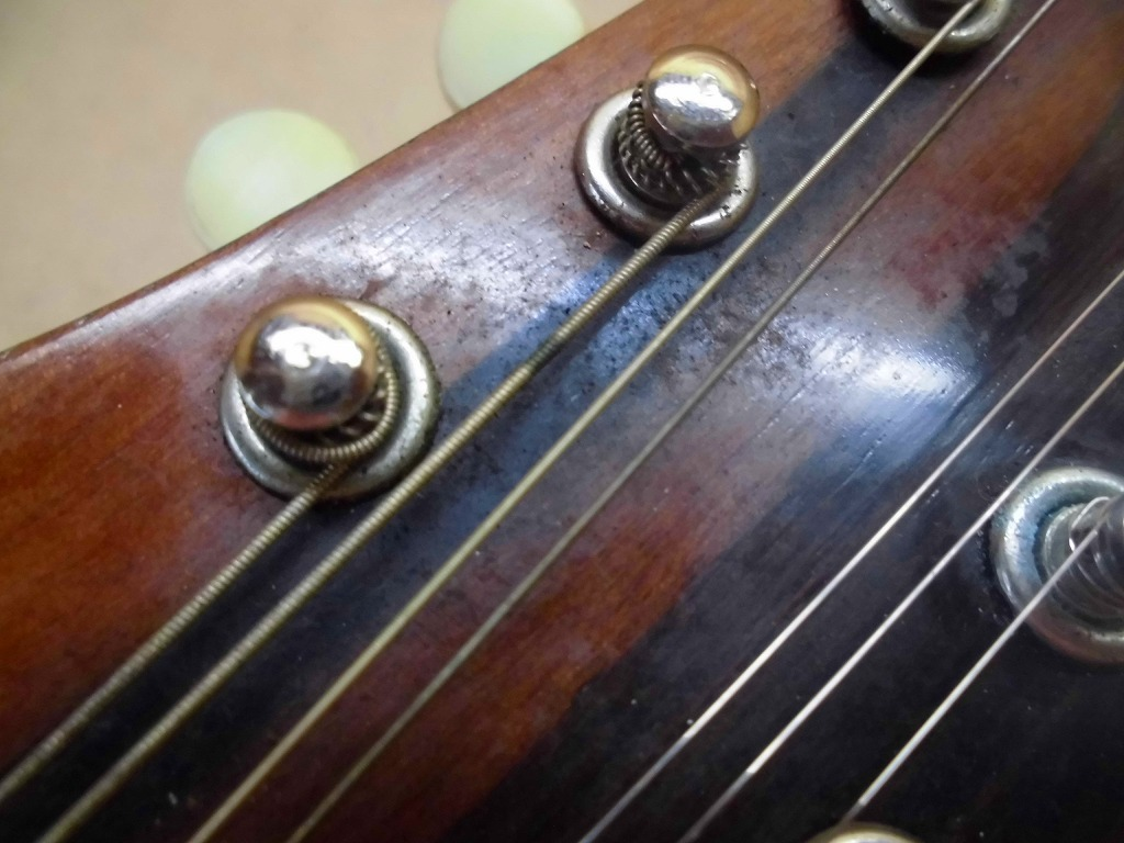 6KそS マンドリン スズキバイオリン SUZUKI VIOLIN No.208 ハードケース 鈴木 弦楽器 1964_画像7