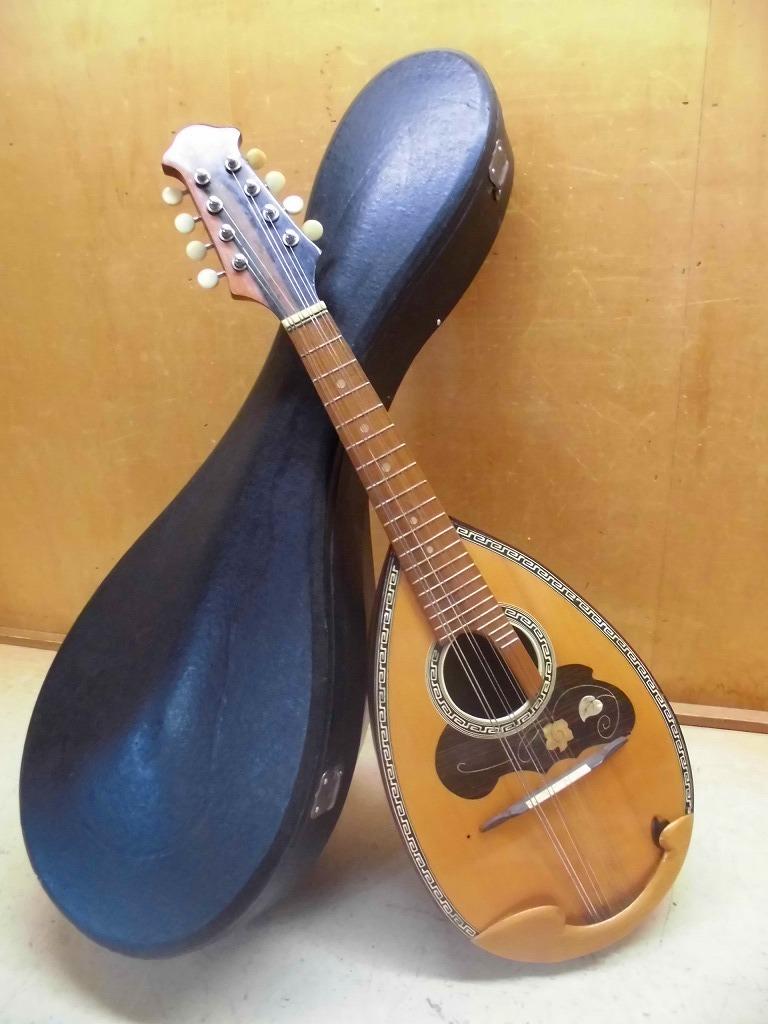 6KそS マンドリン スズキバイオリン SUZUKI VIOLIN No.208 ハードケース 鈴木 弦楽器 1964_画像1