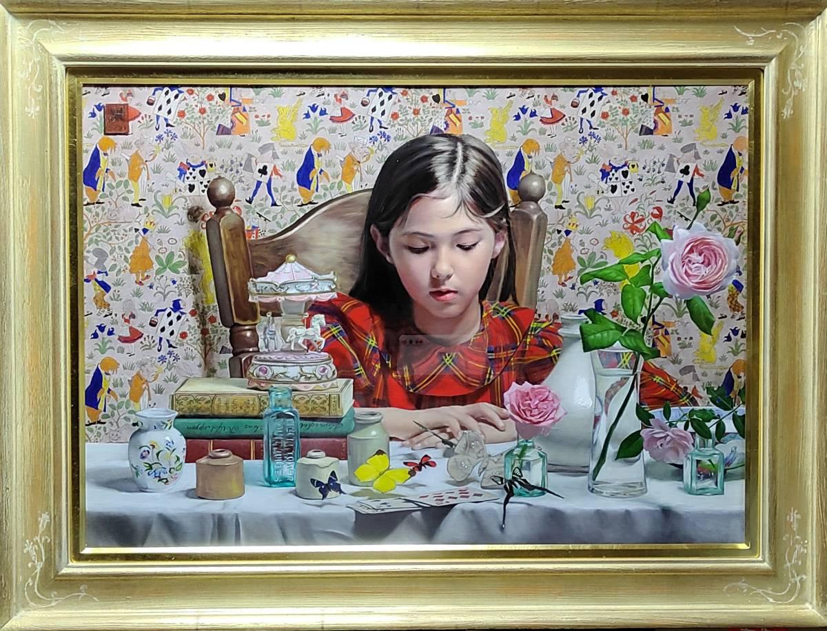 福田宏樹 (新作)*The timbre of the music box「B」(Anna XXIII) *LA ART SHOW 2021 (7/