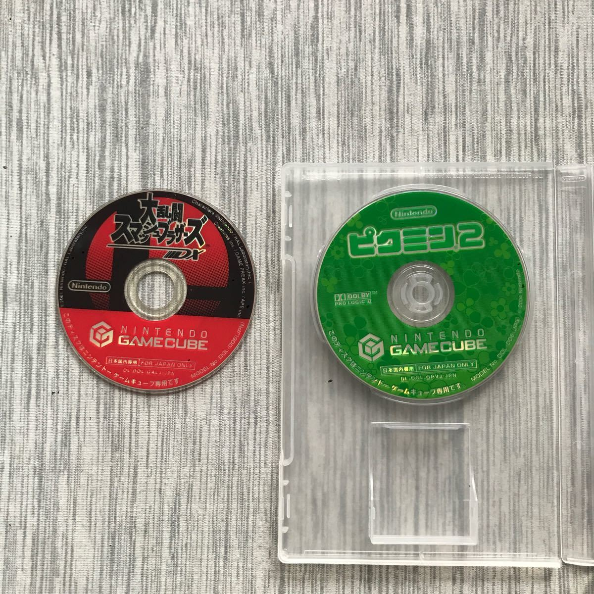 大乱闘スマッシュブラザーズDX、ピクミン2セット!