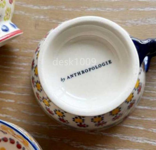 ★極美品★ アンソロポロジー ナタリーレテ ティタニア マグカップ 2点セット_画像3