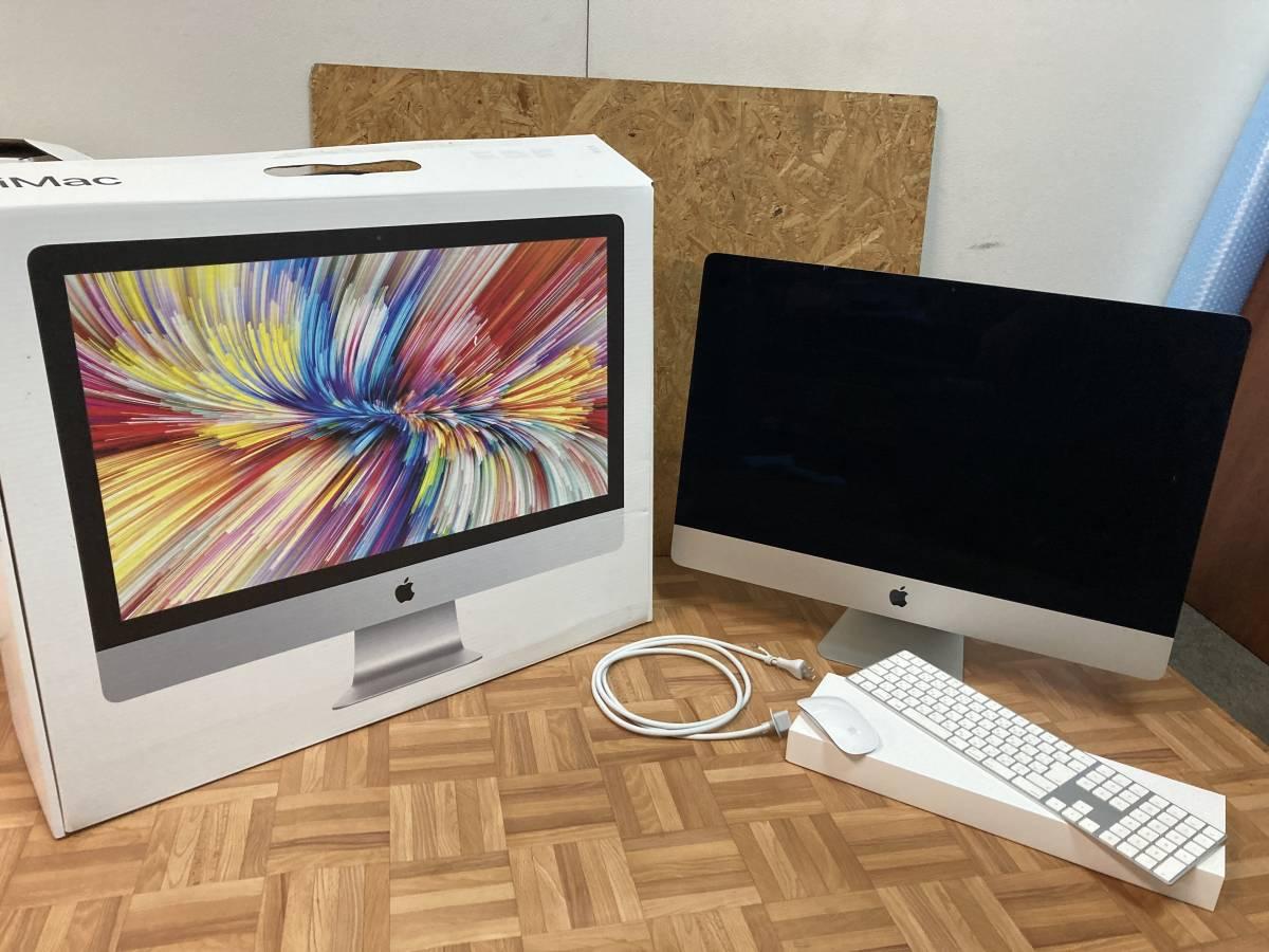 美品 Apple iMac (Retina 5K, 27インチ, 2017) デスクトップPC Catalina 4,2GHz i7 メモリ:32GB ⑦_画像1