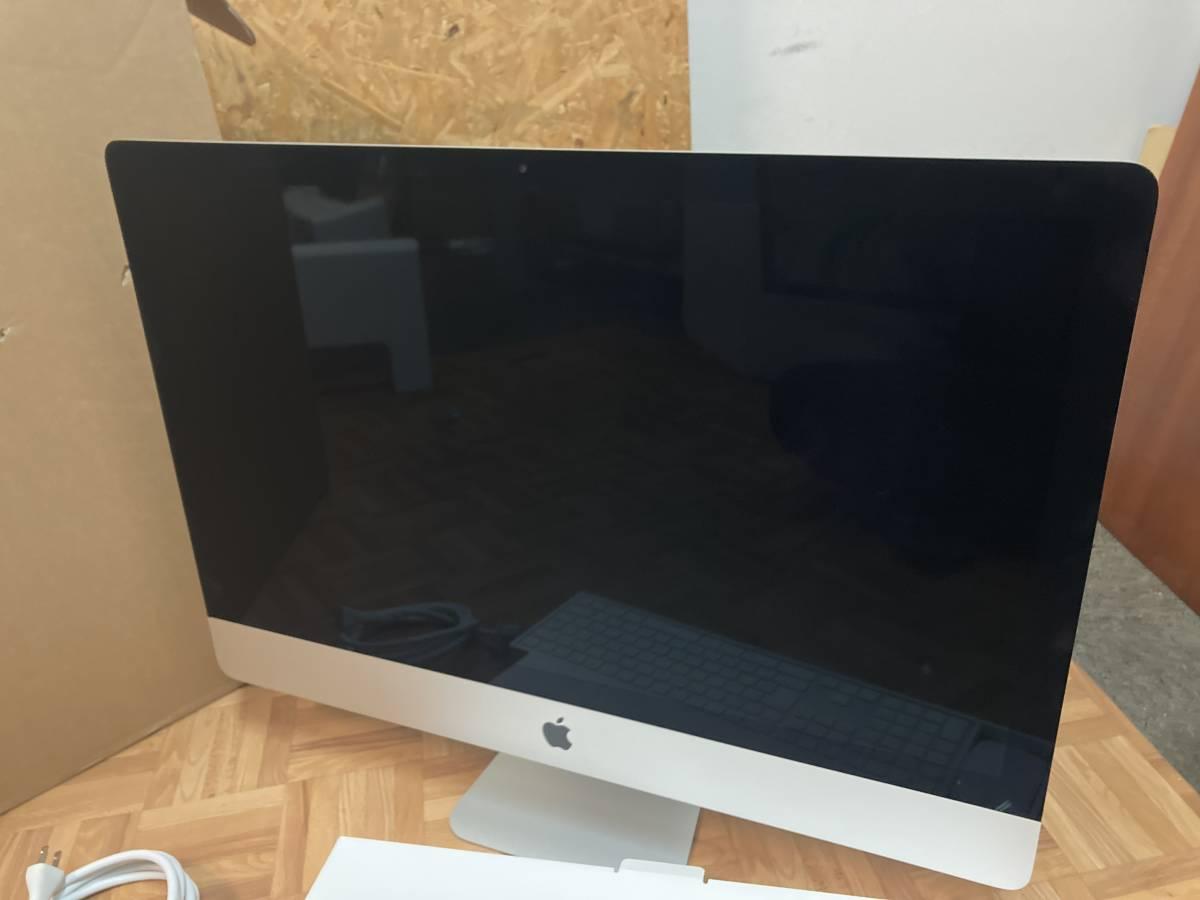 美品 Apple iMac (Retina 5K, 27インチ, 2017) デスクトップPC Catalina 4,2GHz i7 メモリ:32GB ⑦_画像2