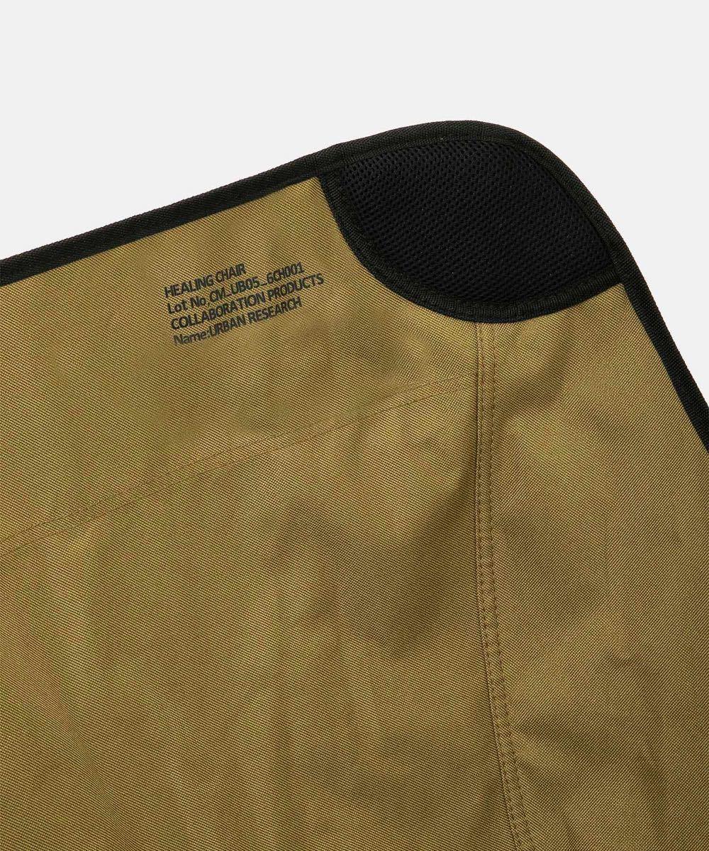 完売品 アーバンリサーチ×コールマン【別注】COLEMAN ヒーリングチェア URBS限定 アウトドア 折り畳み椅子 パイプ椅子
