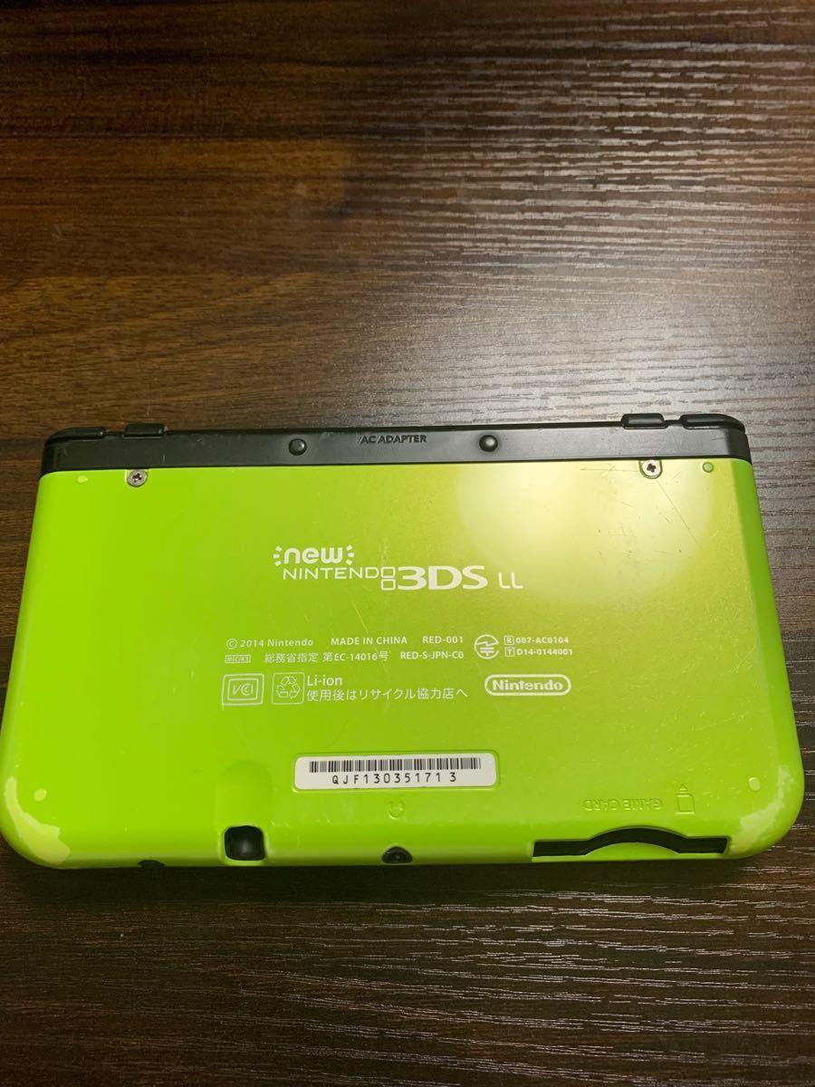 Newニンテンドー3DS LL new NINTENDO 3DS LL ライムブラック 任天堂