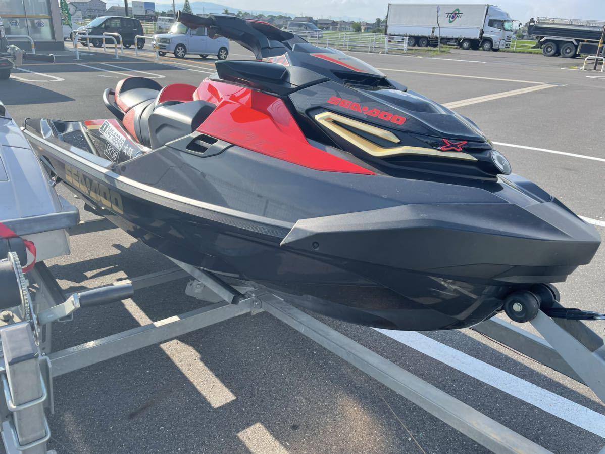 「SEADOO RXT-X 300 RS 2019年モデル 50hr シードゥー ジェット 下取り 交換 バイク 車 トレーラー」の画像2