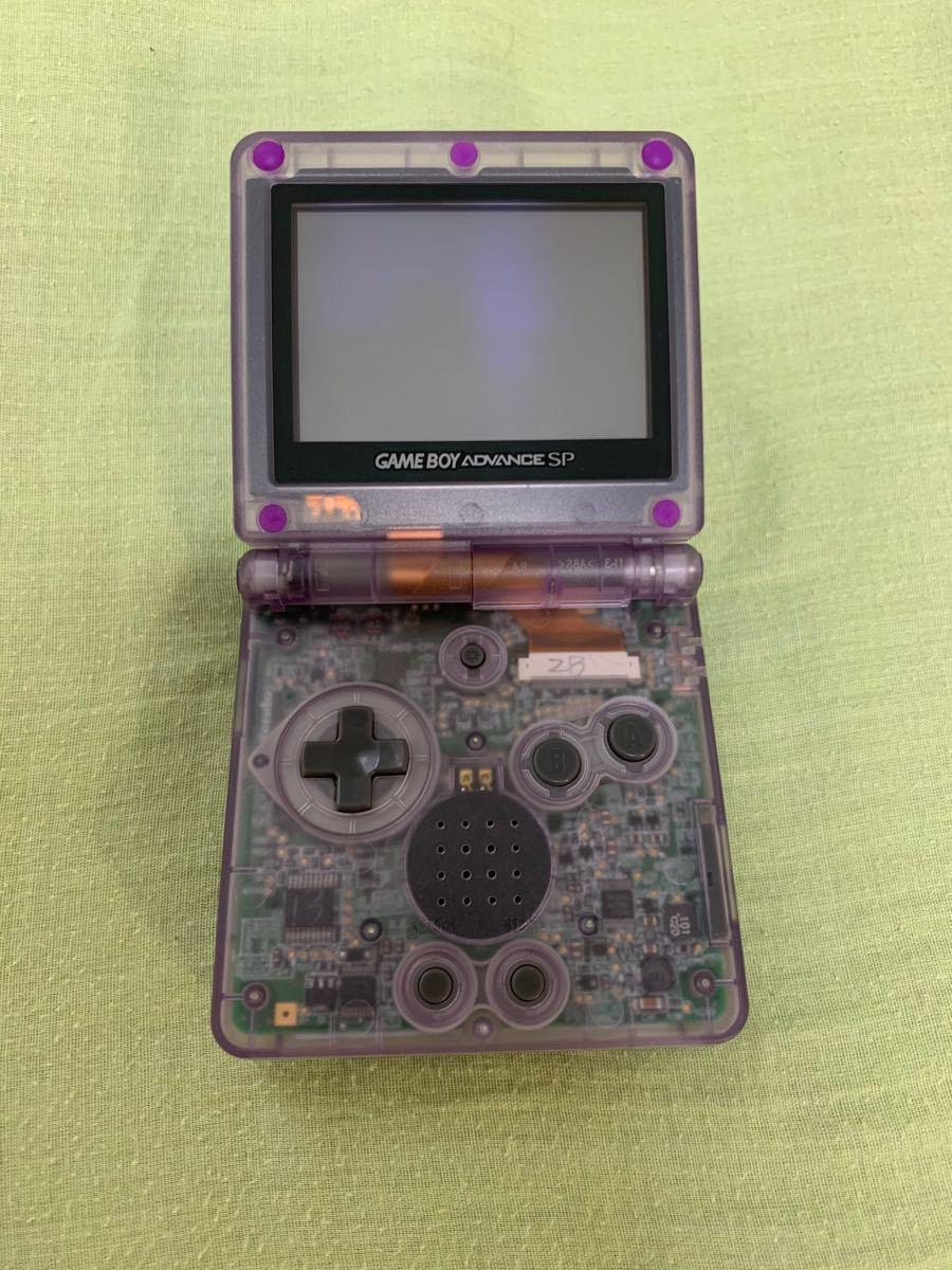 ゲームボーイアドバンスSP本体+充電器