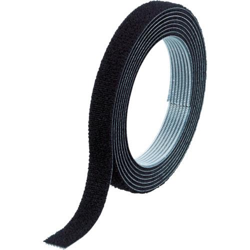 TRUSCO マジックバンド[[R下]]結束テープ両面 幅10mmX長さ30m黒 [MKT10WBK]_代表画像又はイメージ画像の場合があります