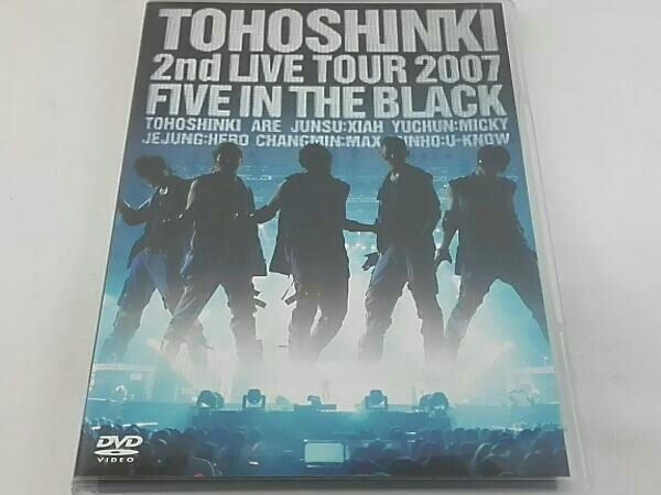 2nd LIVE TOUR~Five in the Black~(初回限定版)