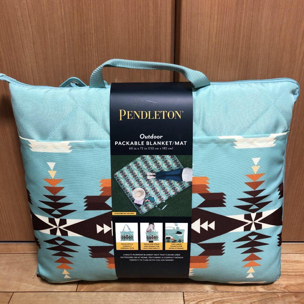 【PENDLETON】ペンドルトン レジャーシート ブランケット ブルー
