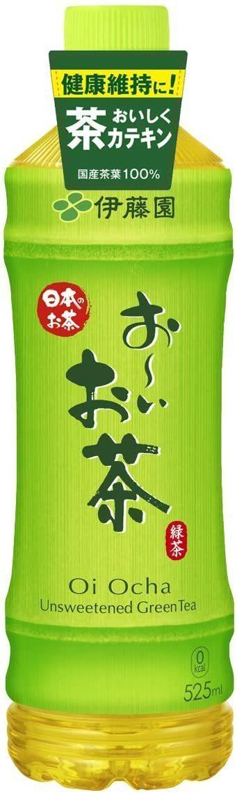 新品 ▽ 伊藤園 おーいお茶 緑茶 525ml × 24本DD98YN5N_画像1