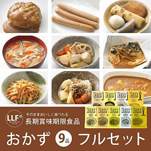 MT-NET 非常食セット 長期保存食 おかず 9品セット 防災手帳付_画像2