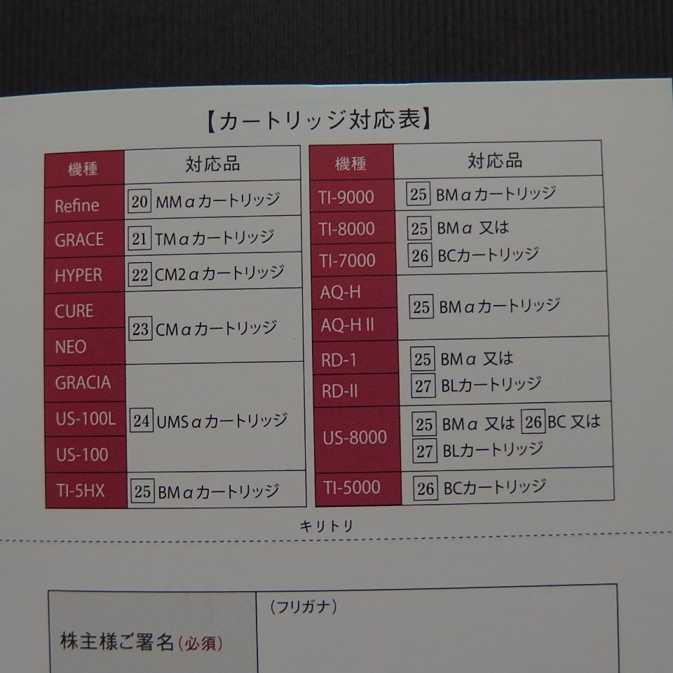 ☆ 日本トリム 株主優待 30%off券 ☆_画像3