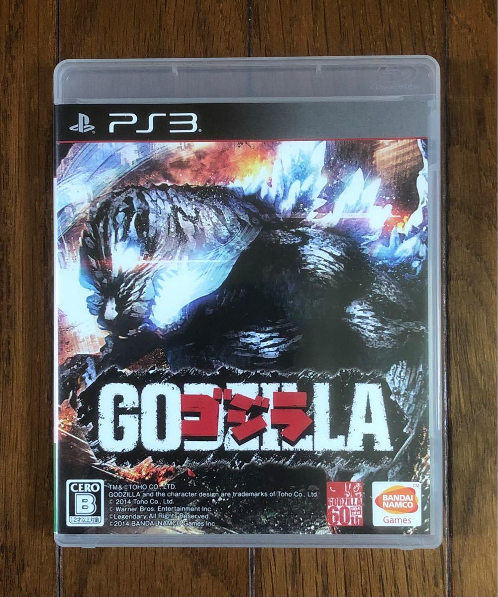 【動作確認画像有り】 PS3 ゴジラ GODZILLA プレイステーション3 プレステ3 ゲームソフト カセット バンダイ ナムコ