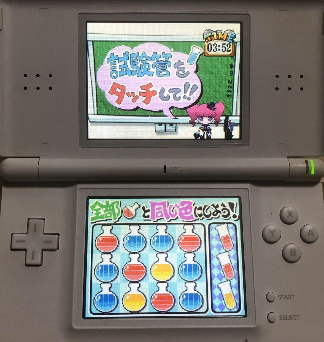 【動作確認画像有り】 DS マリー&ガリーのLet's さいえんす ニンテンドーDS Nintendo 任天堂 ゲームソフト カセット アドベンチャー