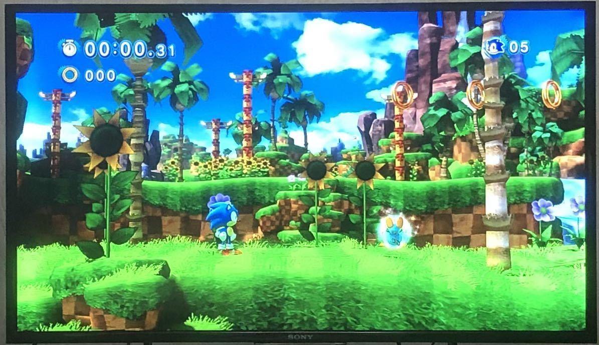 【動作確認画像有り】 PS3 ソニック ジェネレーションズ 白の時空 SONIC GENERATIONS プレステ3 ゲームソフト カセット SEGA セガ