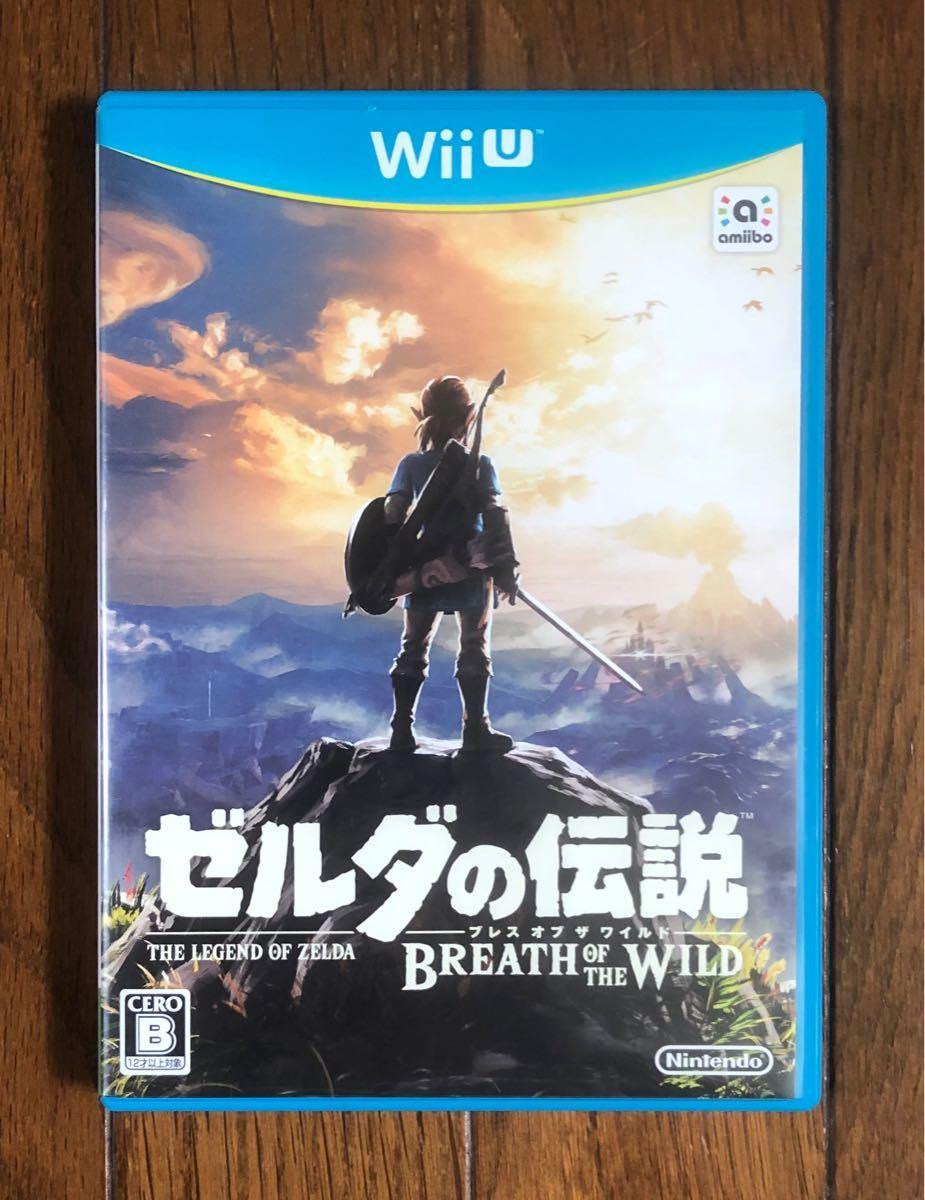 【動作確認画像有り】 WiiU ゼルダの伝説 ブレスオブザワイルド ニンテンドー ウィーユー Wii U ゲームソフト カセット