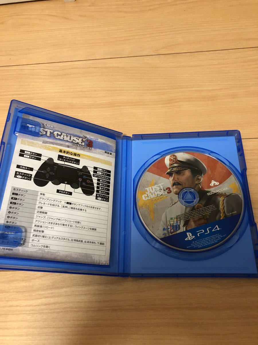 PS4ソフト ジャストコーズ3
