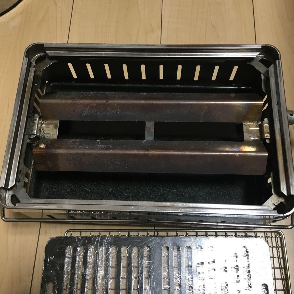 イワタニ 炉端大将 焼き網 グリルプレート付き バーベキュー ガスコンロ