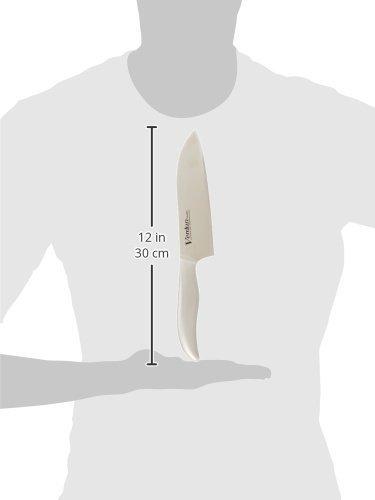 新品 ステンレス ヴェルダン 下村工業 日本製 ヴェルダン 三徳 包丁 165mm モリブデン バナジウム 鋼 食洗9AJJ_画像2