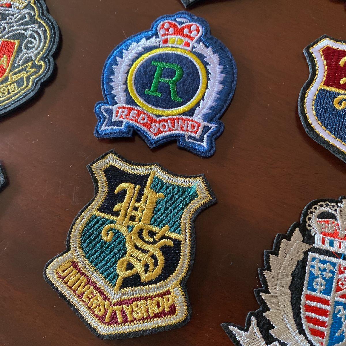 アイロンワッペン 刺繍ワッペン 15枚セット航空自衛隊 飛行隊 米軍 WAPPEN