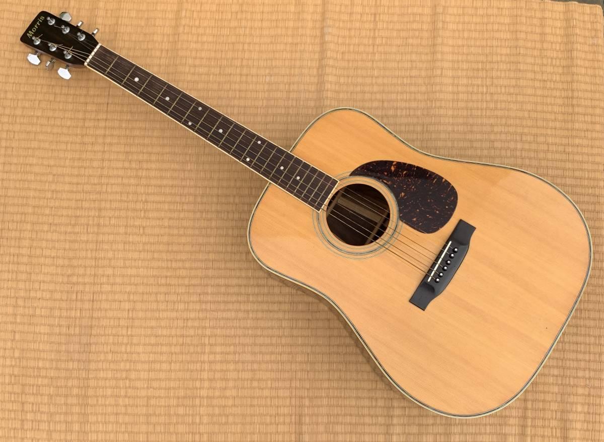 モーリス Morris アコースティックギター W-35 ハードケース付き