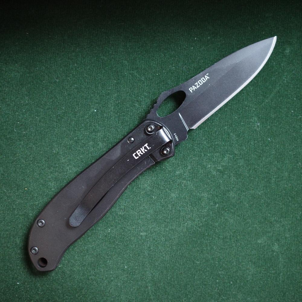 CRKT 6480 PAZODA フレームロック キャンプ アウトドアナイフ 折りたたみ サバイバルナイフ
