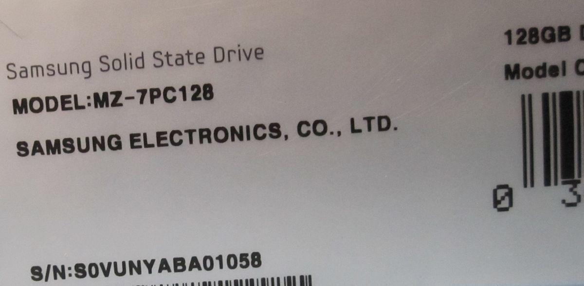 Samsung SSD 830 128GB MZ-7PC128 BOX品 MLC