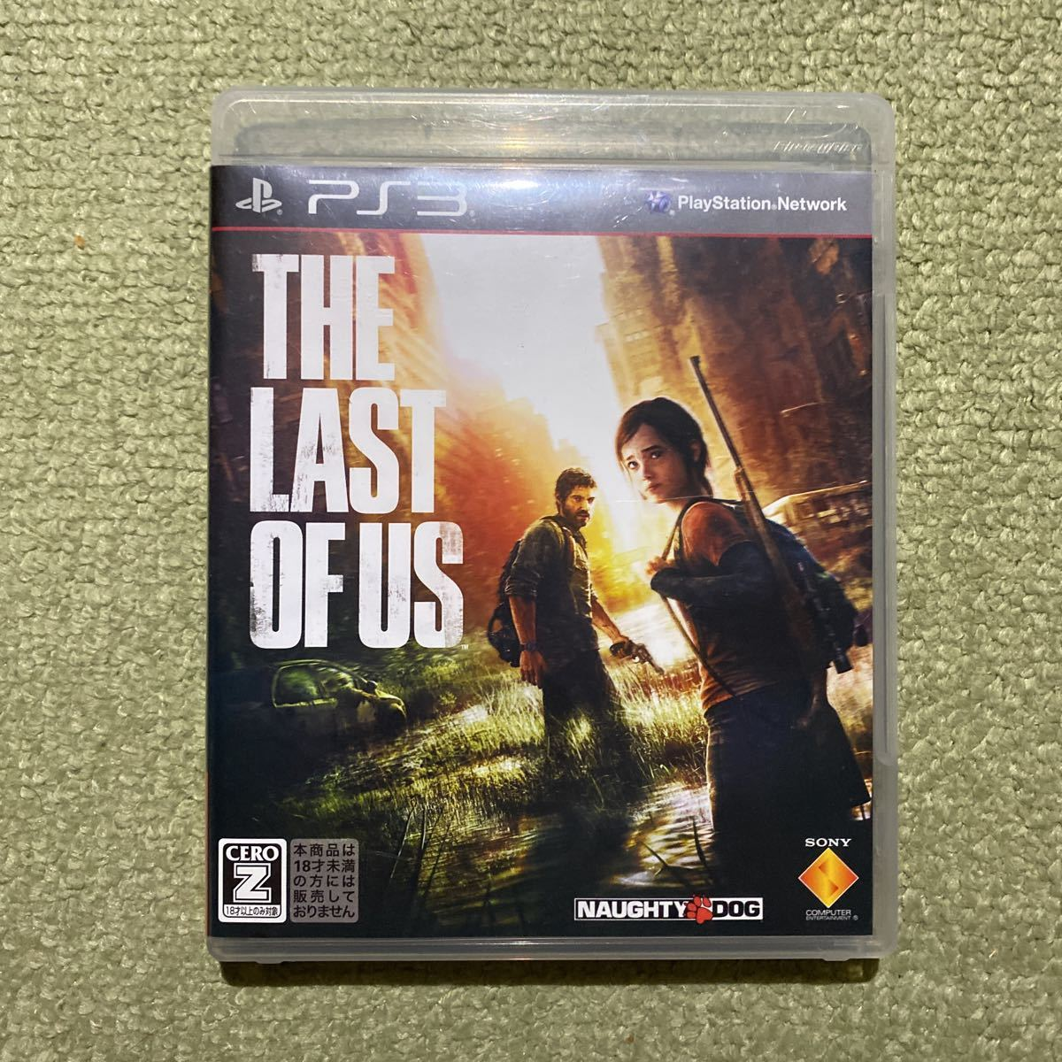 PS3 THE LAST OF US ラストオブアス