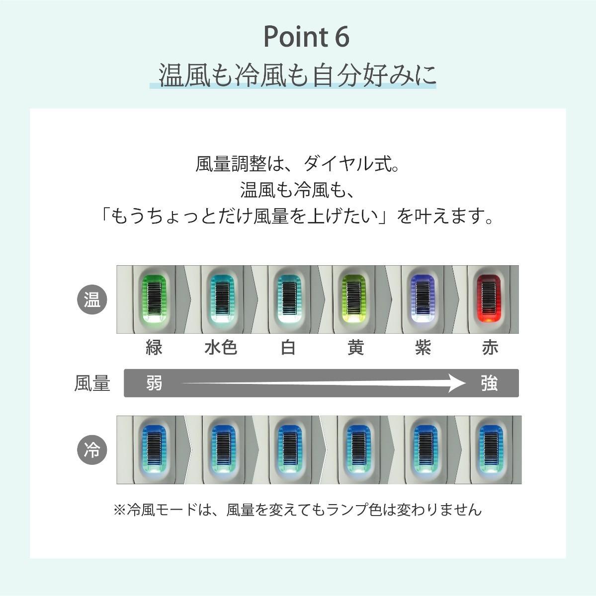 マイナスイオンドライヤー KAZE nice Dryer Premium