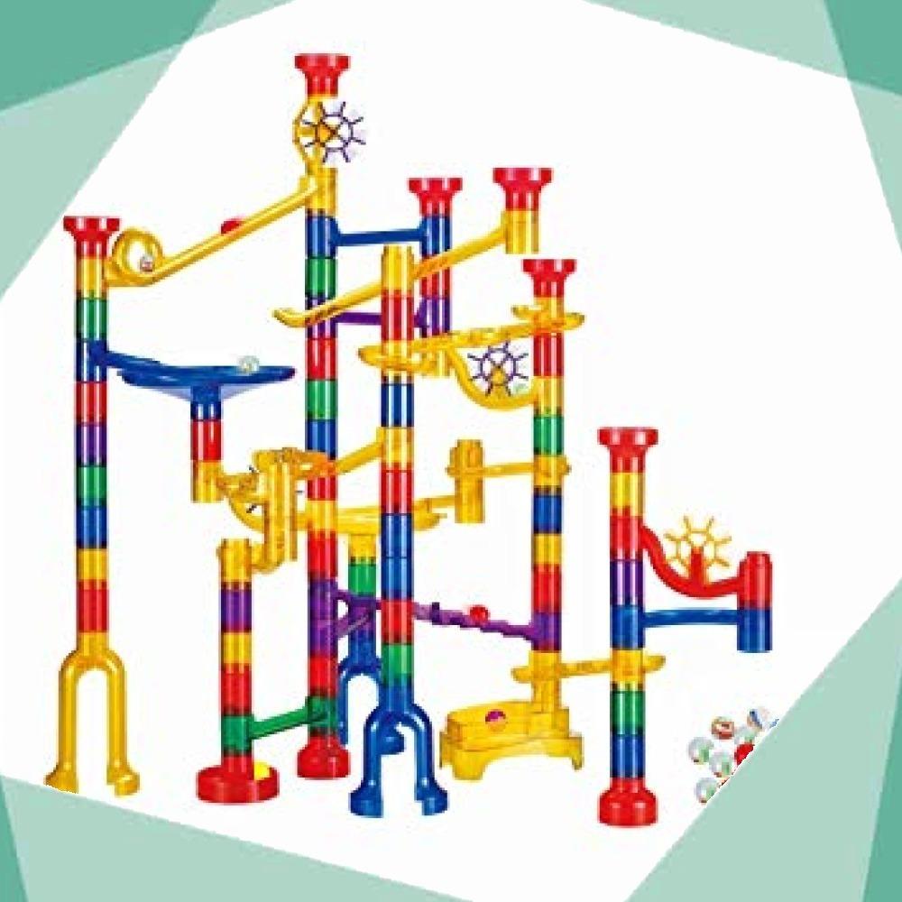 WTOR おもちゃ 190個 ビーズコースター 知育 玩具 組み立て 男の子 女の子 贈り物 誕生日プレゼント 子供 積み木_画像1