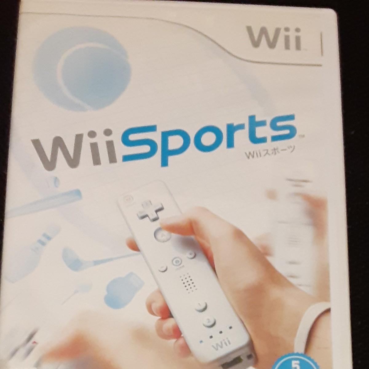 【Wii】 Wii Sports Wiiスポーツ Wiiソフト 任天堂