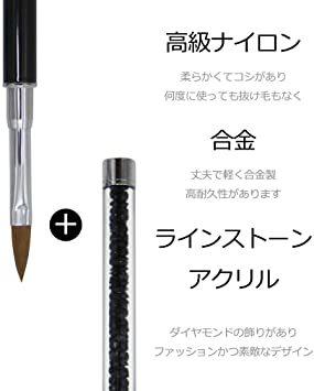 セット#2 ネイルブラシ Missct 高品質 ネイルアート筆 ジェルネイルペン フレンチ 平筆 ネイルペン アクリル 画筆 U_画像8