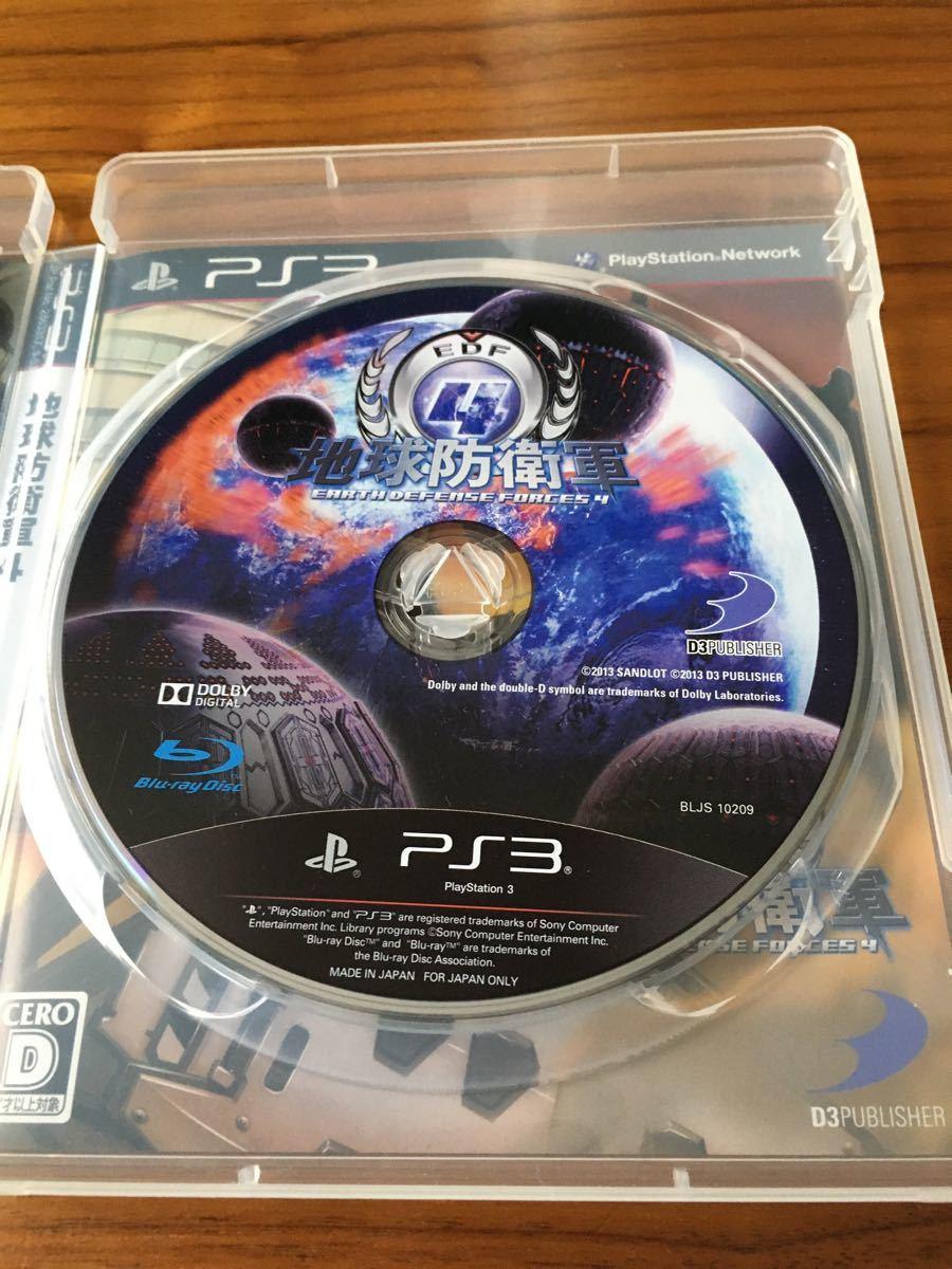 PS3ソフト 地球防衛軍4 プレイステーション4