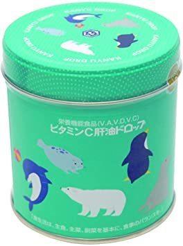 河合(カワイ)ビタミンC肝油ドロップ 300粒_画像1