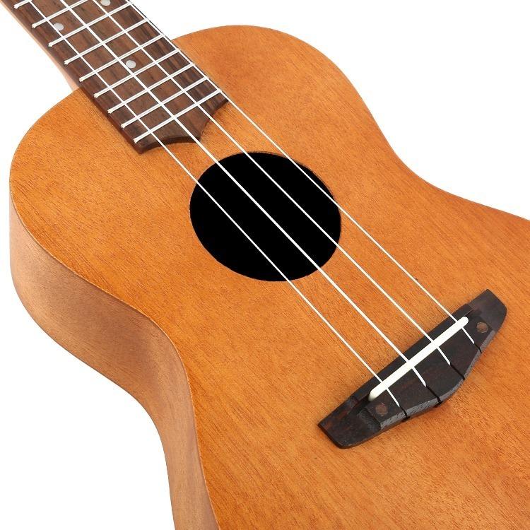 23インチ マホガニー ハワイアン コンサートウクレレ ウクレレ キット 4弦 スモールギター ギター 楽器 ギフト_画像2