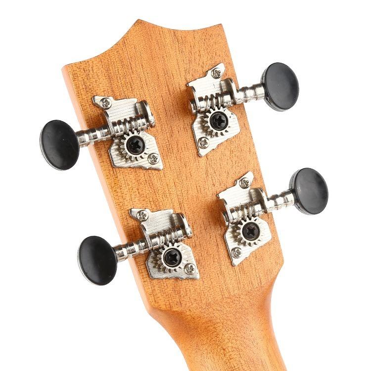 23インチ マホガニー ハワイアン コンサートウクレレ ウクレレ キット 4弦 スモールギター ギター 楽器 ギフト_画像3