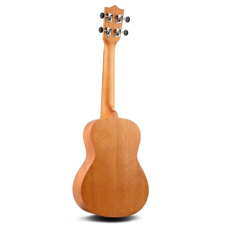 23インチ マホガニー ハワイアン コンサートウクレレ ウクレレ キット 4弦 スモールギター ギター 楽器 ギフト_画像4