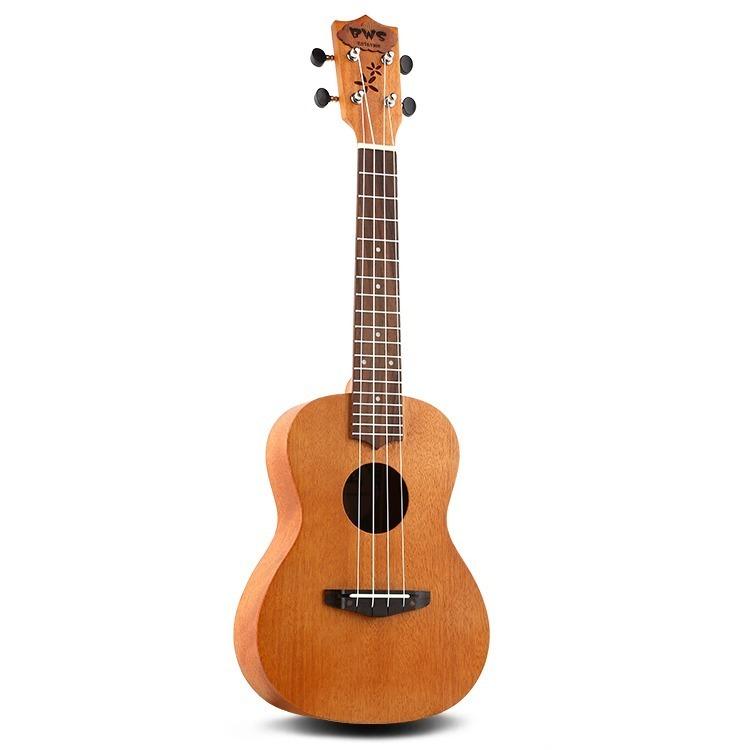 23インチ マホガニー ハワイアン コンサートウクレレ ウクレレ キット 4弦 スモールギター ギター 楽器 ギフト_画像6