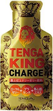 1個 TENGA KING CHARGE テンガ キング チャージ 最上位エナジーゼリー飲料_画像1