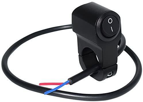 ヘッドライトフォグスポットライトON/OFFスイッチ 防水 12V 22mmハンドルバーオートバイ用_画像3
