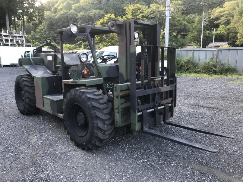 4WD 4WS DIESEL FORK  フォークリフト ディーゼルエンジン THE ENTWISTLE COMPANY MHE-270 米軍払下