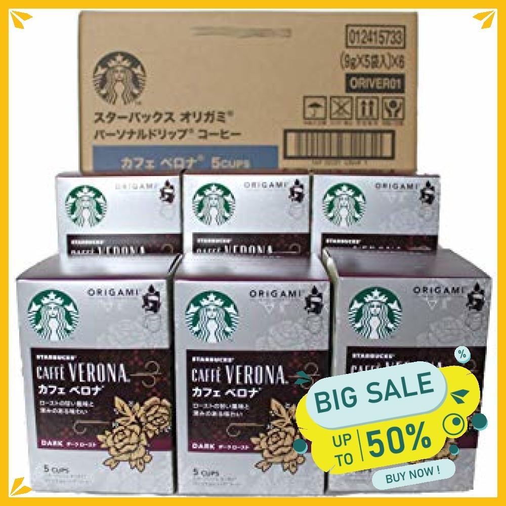 【新品】スターバックス オリガミドリップコーヒー カフェベロナ 6個_画像1