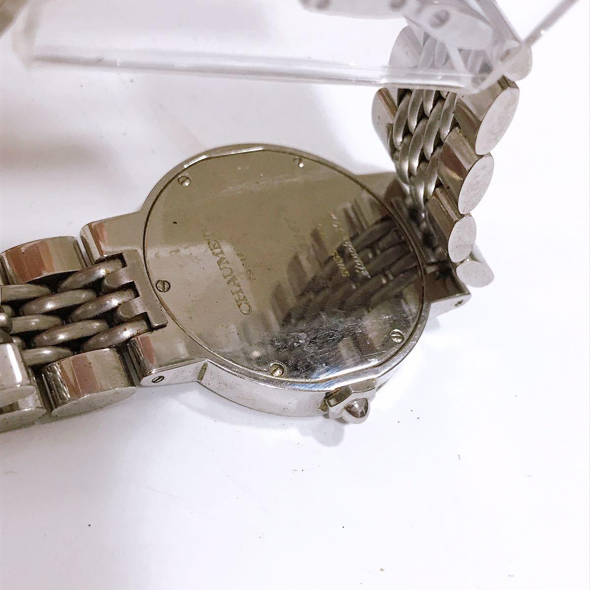 【ジャンク品】ショーメ CHAUMET PARIS 腕時計 メンズ レディース ユニセックス_画像3