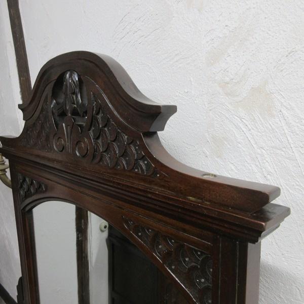 イギリス アンティーク 家具 ドレッシングテーブル ドレッサー 鏡台 ミラー タンス 収納 マホガニー 英国 DRESSER 6952b_画像7